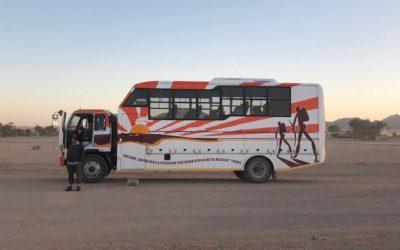 Unterwegs: Unter dem Himmel Namibias